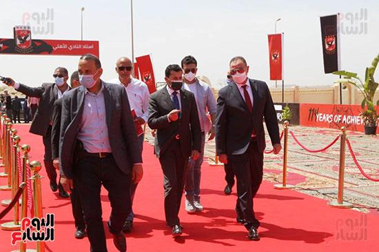 Ceremony of laying the cornerstone of Al-Ahly Stadium (24)