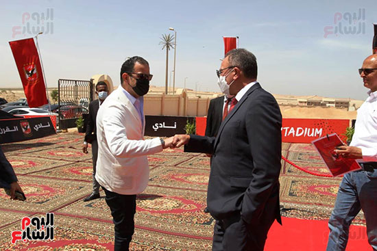 Ceremony laying the foundation stone for Al-Ahly Stadium (29)
