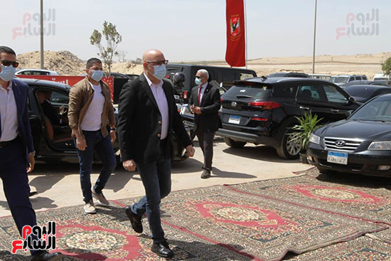 Ceremony laying the foundation stone for Al-Ahly Stadium (27)
