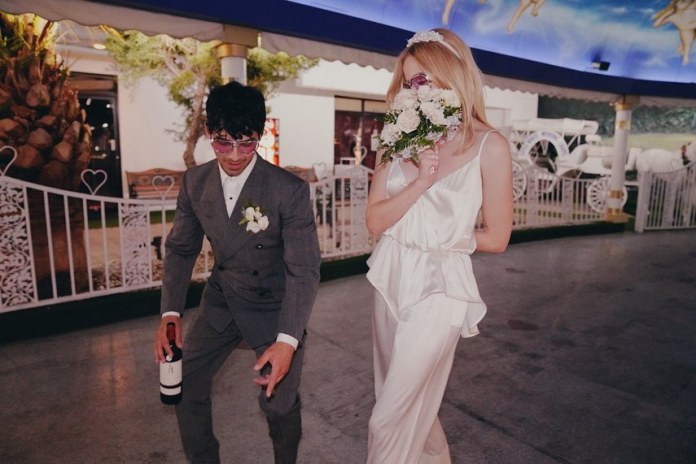 Sophie Trainer in a photo from her wedding