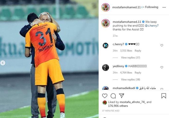 Mustafa Mohamed on Instagram