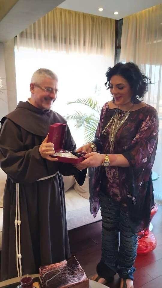 The Catholic Center visits Houria Farghali (2)