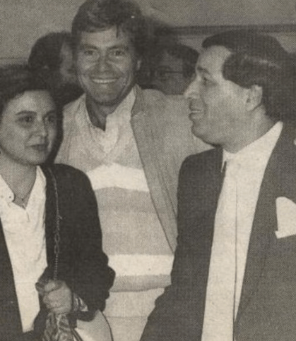 Saeed Saleh, Hussein Fahmy and Soad Hosny
