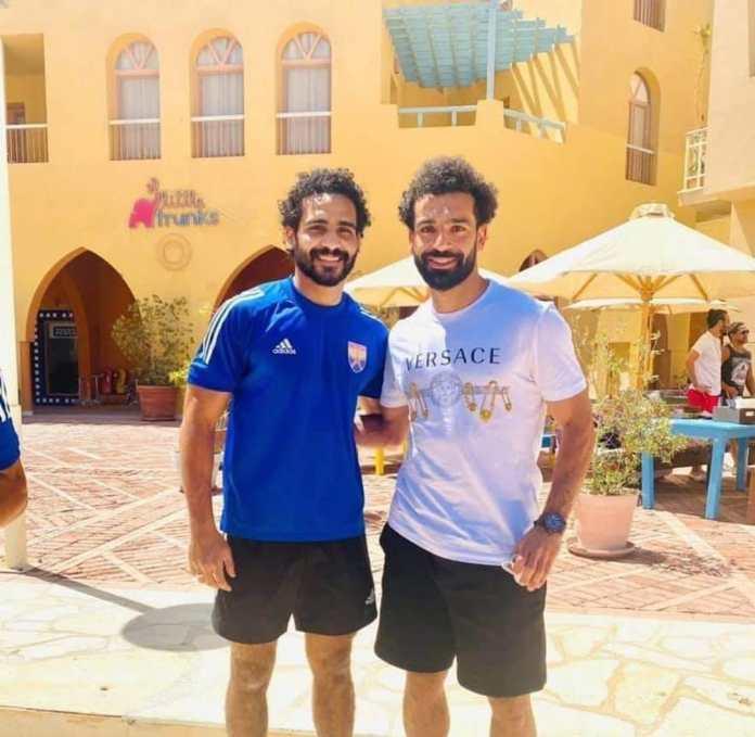 Mohamed Salah and El Gouna players (3)
