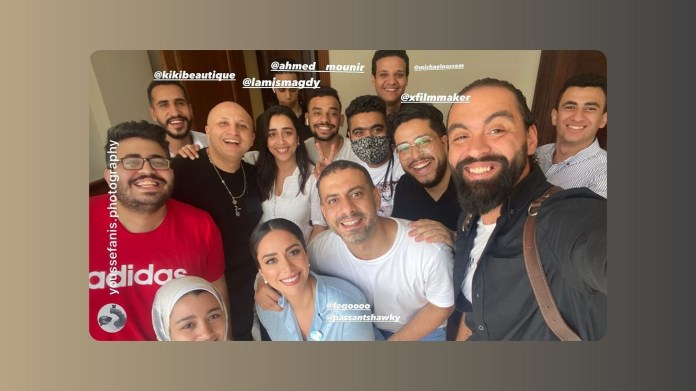 Behind the scenes of the wedding of Mohamed Farraj and Basant Shawky