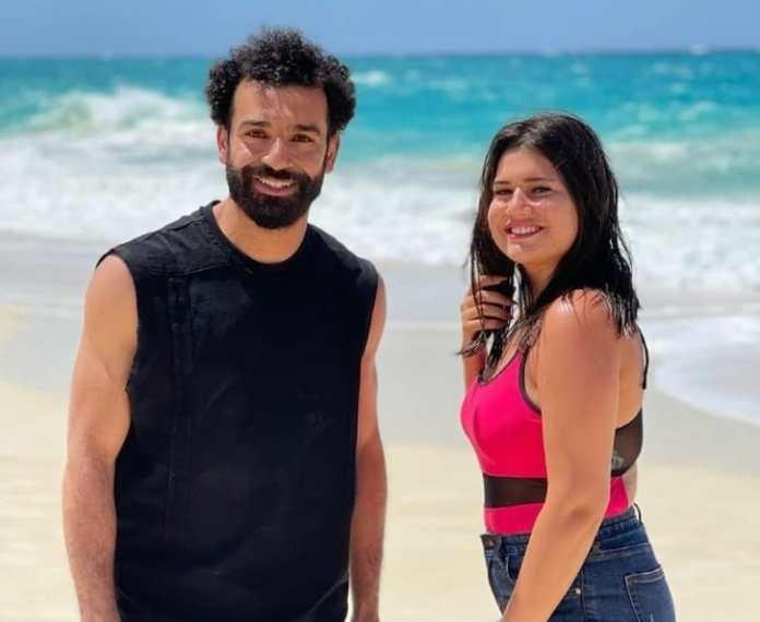 Mohamed Salah and actress Diana Hisham