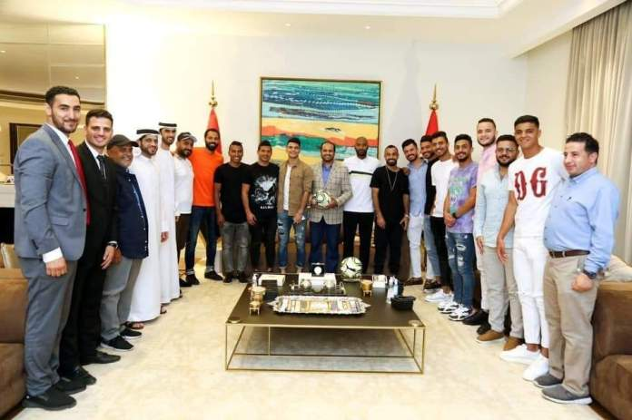 UAE Ambassador with the Polar Stars