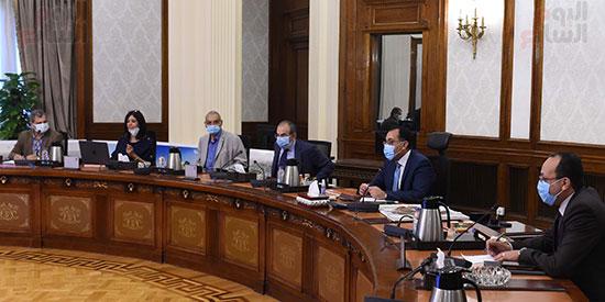 رئيس الوزراء يستعرض مخطط تطوير حديقة الفسطاط (2)