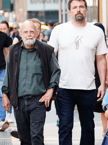 Ben Affleck and his father