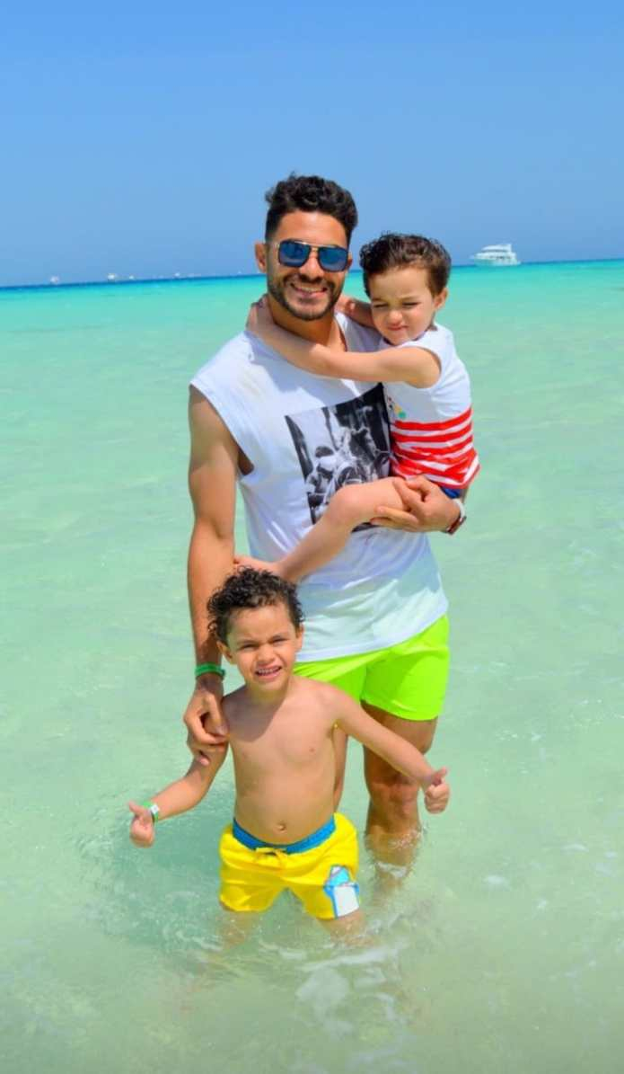 Yasser Ibrahim and his sons