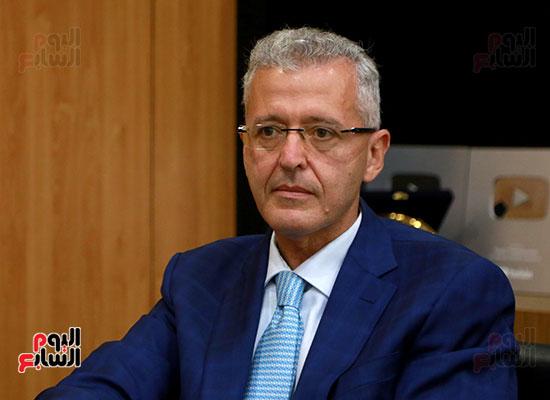 الرئيس التنفيذى لجى بى غبور أوتو فى زيارة لـاليوم السابع (2)