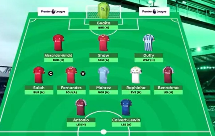 Formation of the second round in the fantasy