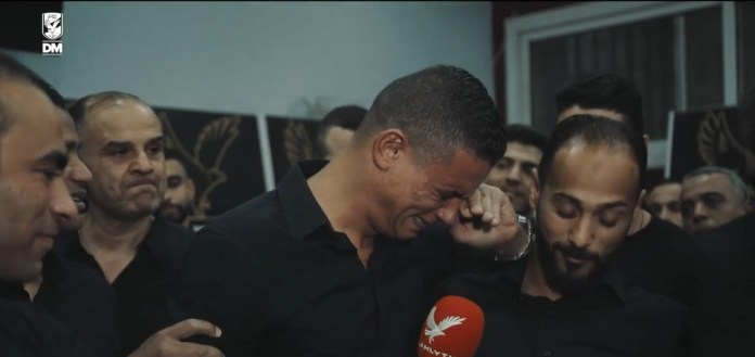 Saad Samir cries in farewell to Al-Ahly (1)