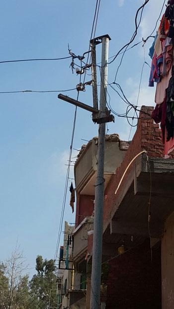 صحافة المواطن ، سرقة الكهرباء ، محافظة الدقهلية ، اسلاك كهربائية ، مركز بلقاس،  (8)