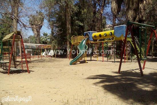 جانب من ركن الاطفال بحديقة الحيوان -اليوم السابع -4 -2015