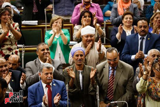 الجلسة العاملة لمجلس النواب (8)
