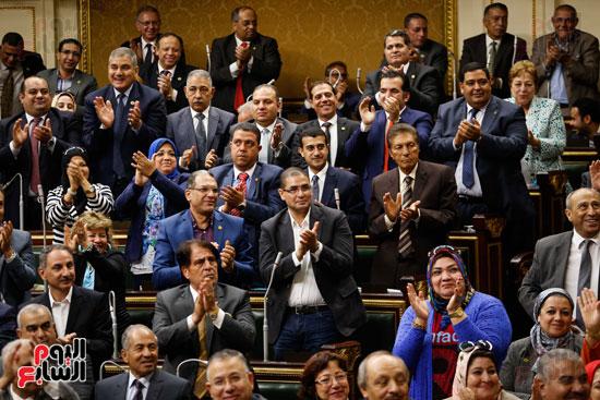 الجلسة العاملة لمجلس النواب (9)