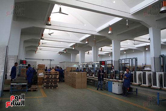خط إنتاج، التكييف المصرى، جالينز ، مصنع 360 الحربى (8)