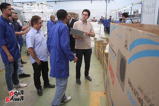 خط إنتاج، التكييف المصرى، جالينز ، مصنع 360 الحربى (9)