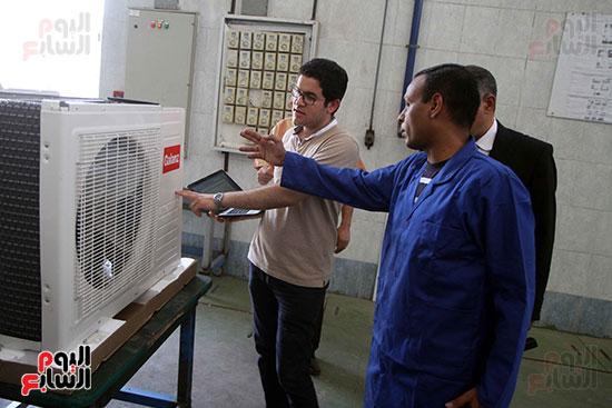 خط إنتاج، التكييف المصرى، جالينز ، مصنع 360 الحربى (18)