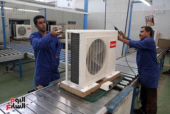 خط إنتاج، التكييف المصرى، جالينز ، مصنع 360 الحربى (20)