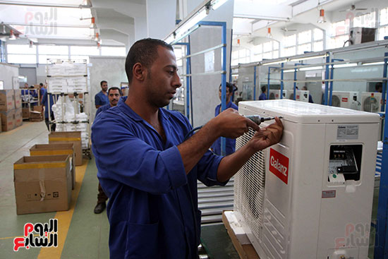 خط إنتاج، التكييف المصرى، جالينز ، مصنع 360 الحربى (21)