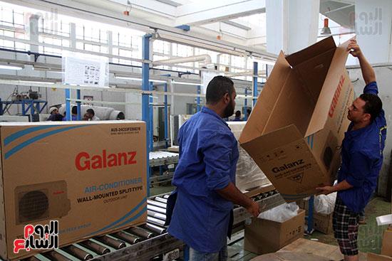 خط إنتاج، التكييف المصرى، جالينز ، مصنع 360 الحربى (24)