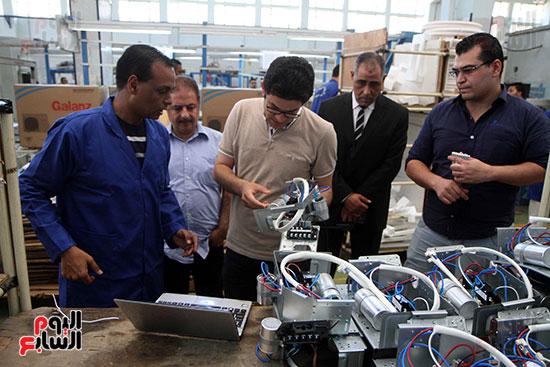 خط إنتاج، التكييف المصرى، جالينز ، مصنع 360 الحربى (28)