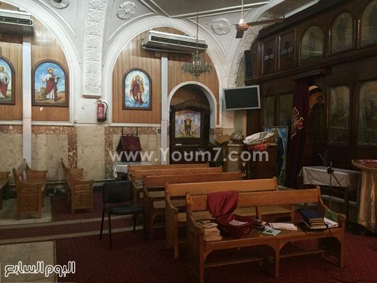 صورة لكنيسة العذراء والأنبا بيشوى  -اليوم السابع -8 -2015