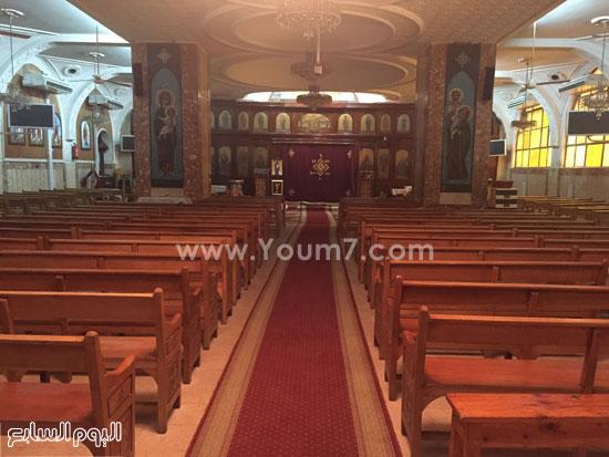 صور للكنيسة من الداخل  -اليوم السابع -8 -2015