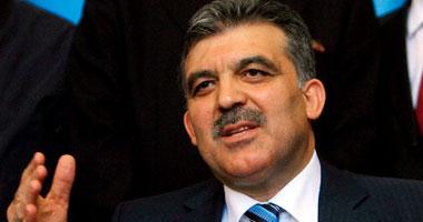 رئيس الوزراء التركى عبدالله جول