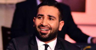 بالفيديو أحمد سعد يغنى لـيونس ولد فضة بحبك يا صاحبى