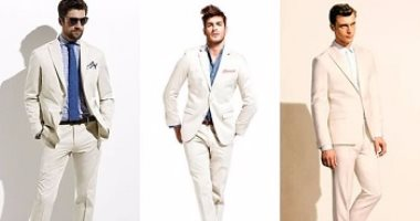 قاموس الموضةللرجال إزاى تلبس البذلة البيج بـ5 أشكال