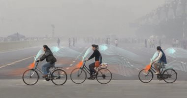 شركة ناشئة صينية تطور دراجة تنقى الهواء لمكافحة التلوث