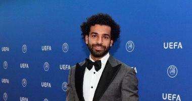 ننشر فيديو وصول محمد صلاح إلى مقر حفل افضل لاعب فى اوروبا