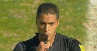 أمين عمر حكما لمباراة الجونة وإنبى بالدورى