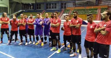 منتخب مصر للصالات يتعادل سلبياً مع البحرين فى الشوط الأول