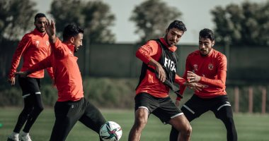 "Al-Ahly announces it in training ""No time to rest"" In preparation for Bayern Munich .. photos"