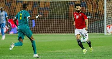 صور.. محمد صلاح يحتفل بتأهل منتخب مصر لأمم أفريقيا 2022