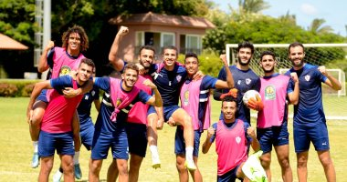 Zamalek is satisfied with light exercises to loosen the muscles and comfort the players