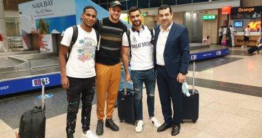 الجزيري والمثلوثي يصلان القاهرة استعدادا للسفر إلى كينيا الليلة