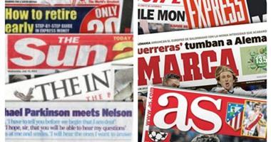 طباعة الاخبارصحافة أوروبا أتلتيكو يفوز بالديربى فى مكاتب