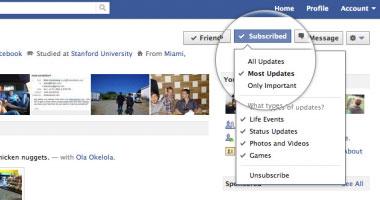 خاصية جديدة على فيس بوك لمتابعة غير الأصدقاء اليوم السابع