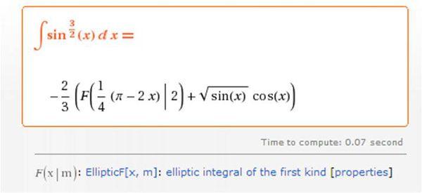 sinx的3/2次方的原函數?如果是0到二分之派的定積分呢? - 雨露學習互助