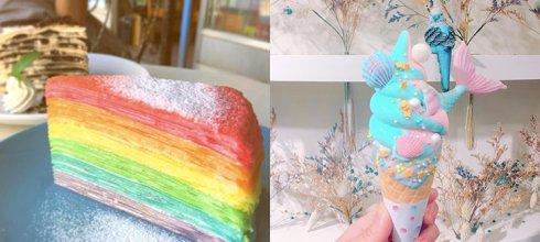「5家IG熱門打卡的超夢幻甜點店」狙擊女孩們的少女心!第2家吃的不是甜點是藝術