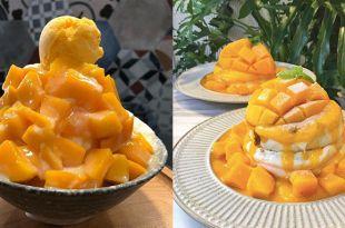 芒果季必吃甜點!「全台10家超人氣芒果系列美食」台中和台南的芒果冰真的不得了!