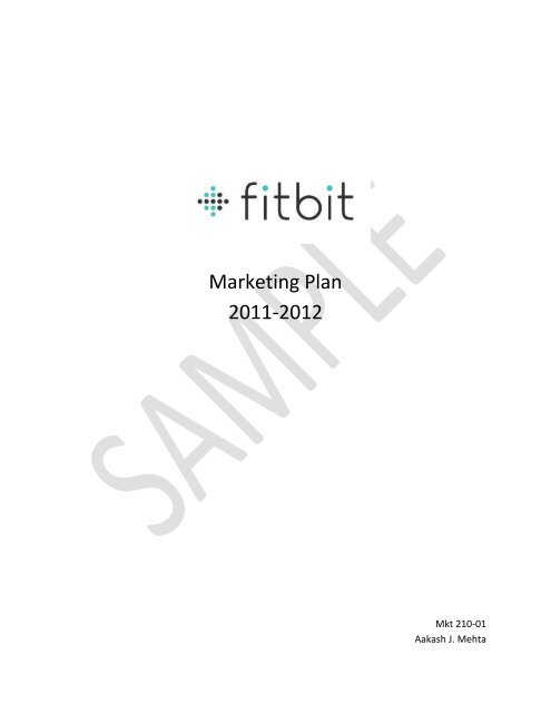 SWOT Analysis Fitbit has