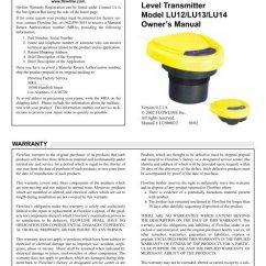 4 Wire Ultrasonic Level Transmitter 2005 Dodge Durango Slt Stereo Wiring Diagram Specifications Step One R Minime 2 Model Lu12 Lu13
