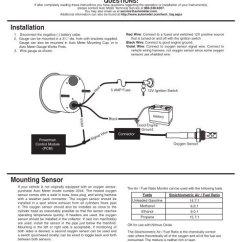 Autometer Air Fuel Ratio Gauge Wiring Diagram Horse Trailers 21 16 Monitor Installation Auto Meter