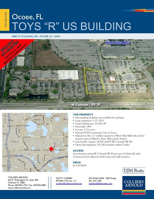 """Toys R Us Map : """"R"""", BUILDING"""